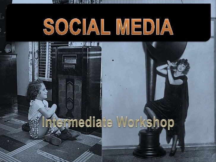 Social Media   Beyond the Basics