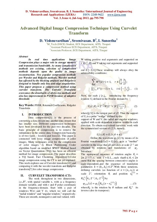 D. Vishnuvardhan, Sreenivasan. B, I. Suneetha / International Journal of Engineering Research and Applications (IJERA) ISS...