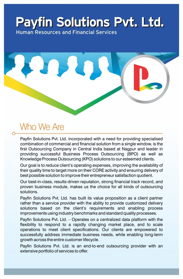 PAYFIN SOLUTIONS_BROCHURE