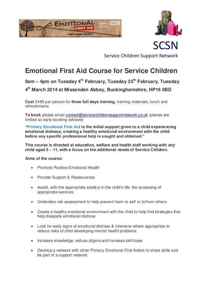 Efa feb course flyer