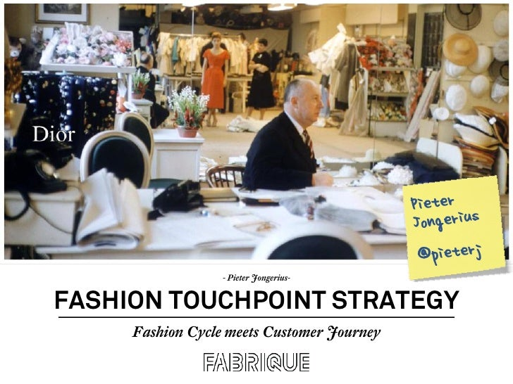 Fashion Touchpoint Strategy