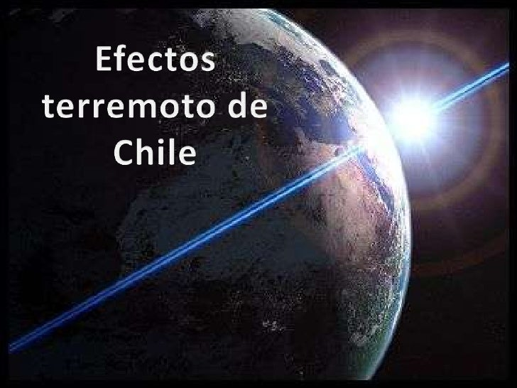 Efectos Terremoto Chile (Cmp)