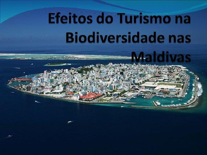 Efeitos do turismo_na_biodiversidade_das_maldivas