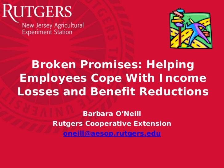 EFERMA 2012 Workshop #1-Broken Promises-02-12