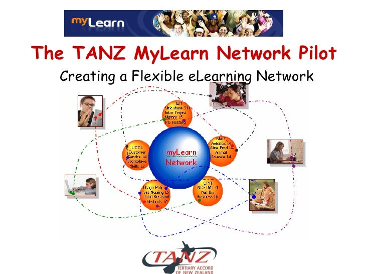 The TANZ MyLearn Network Pilot   Creating a Flexible eLearning Network