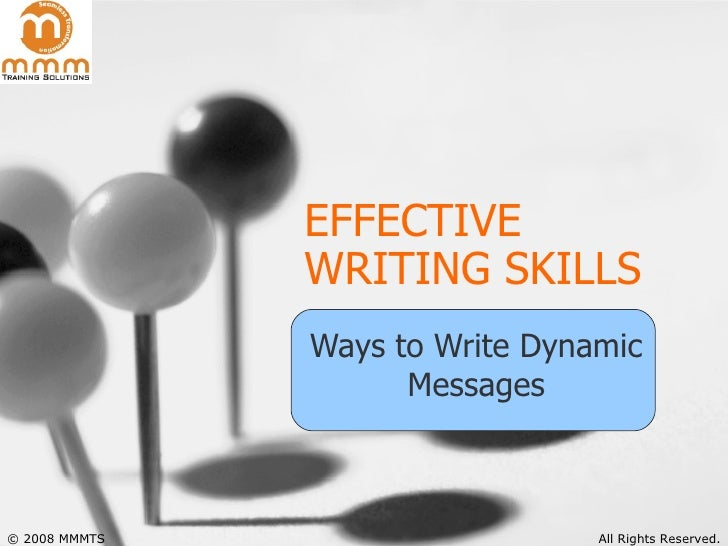 ways of achieving effective essay writing skills