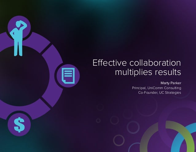 Effective collaboration multiplies results