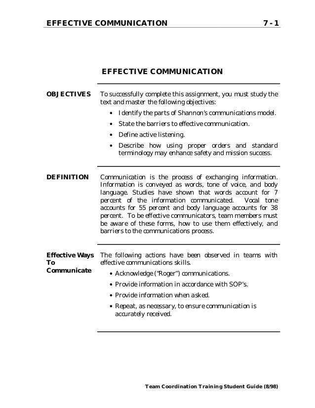communication at workplace essay Effective workplace communication essay sample effective workplace communication dashman company was a large concern which produced equipment for the armed forces of the united states.