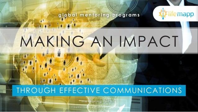 Make an Impact Through Effective Communications