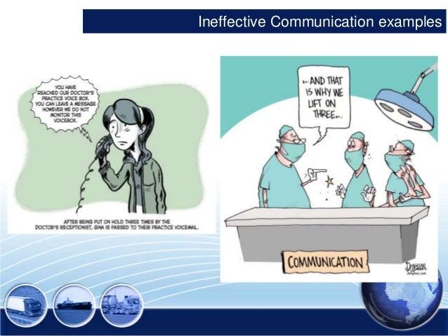 Ineffective Communication Background 5  Ineffective