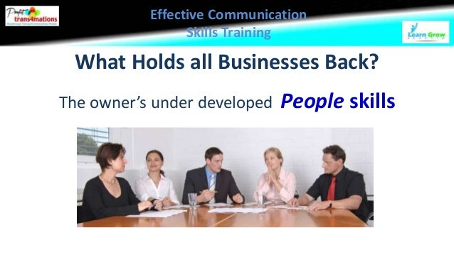 effective communication skills case study