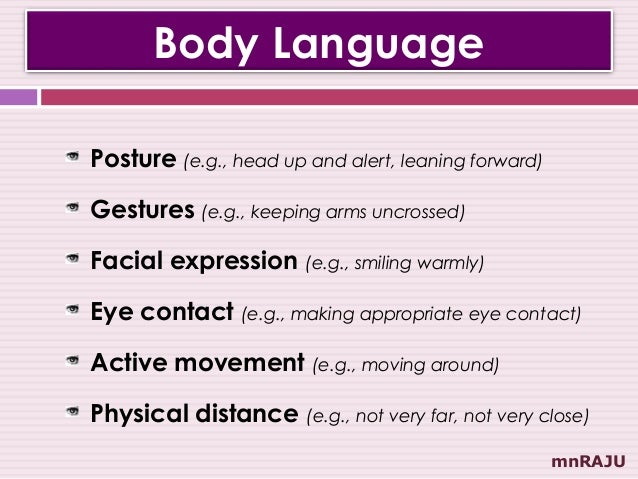 essays body language work