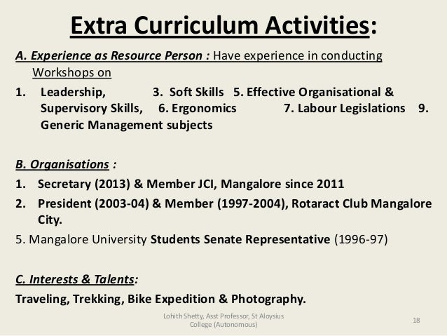 activities resume template miritq extracurricular