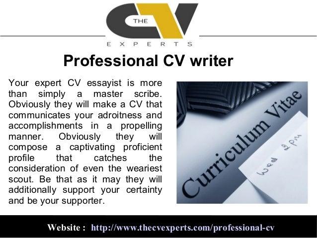 Expert cv writer