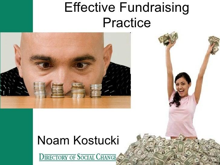 Effective Fundraising Practice