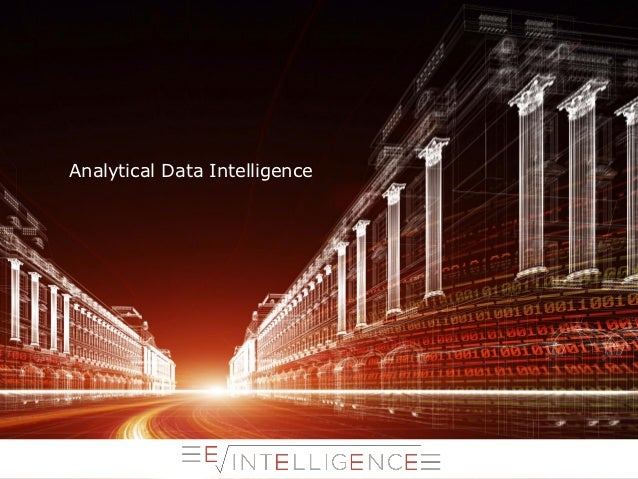 Analytical Data Intelligence