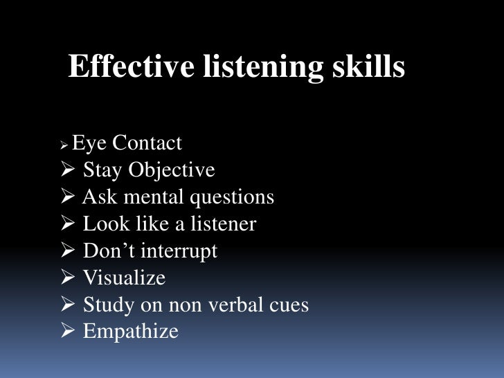 Effective Ways To Start Improving Your Listening Skills