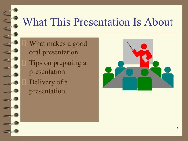 essay about oral prezentation