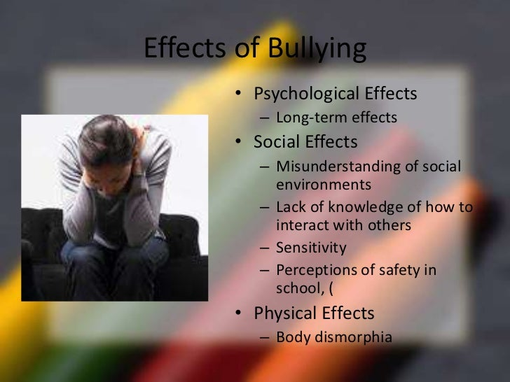 psychology of bullying Information and resources to help employers create healthy, high-performing workplaces the apa center for organizational excellence is a public education initiative from the american psychological association designed to educate the employer community about the link between employee health and well-being and organizational performance.