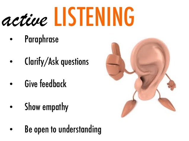 Pics Photos - Listening Skills Cartoon