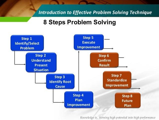 Steps problem solving
