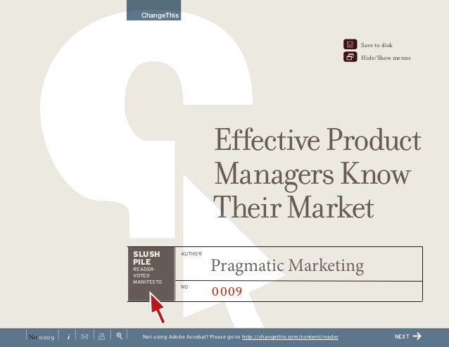 Effective product managers