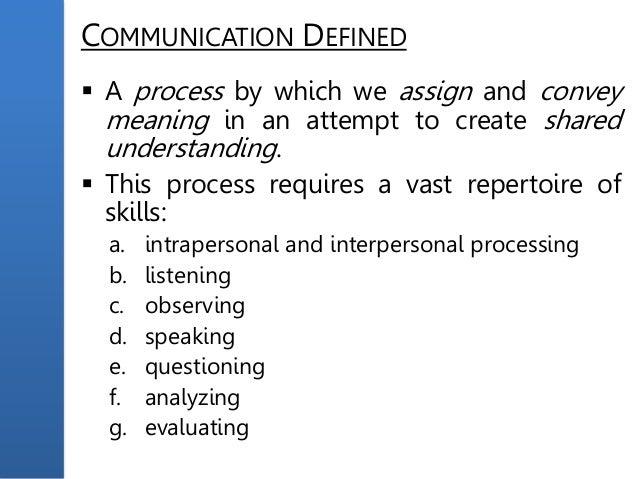 Write my speech of communication