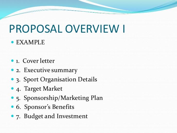 Cover letter for sponsorship proposal Sample Sponsorship Letters