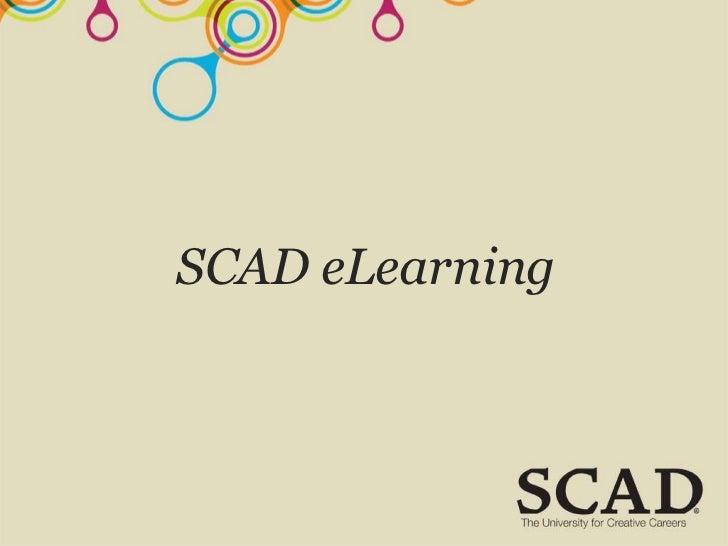 SCAD eLearning