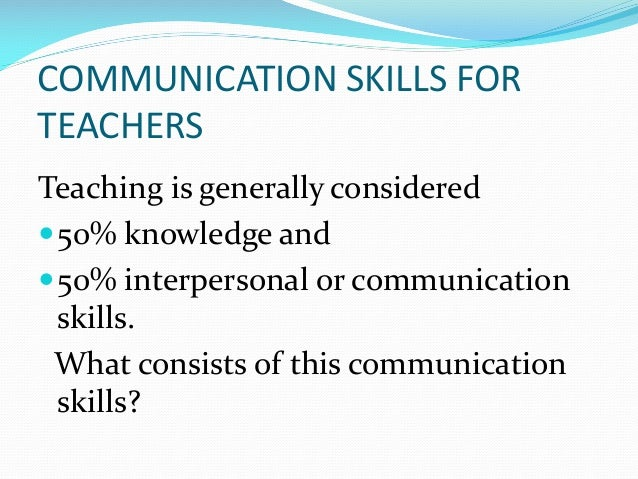 Effective Communication Skills Ppt Free Download Image Gallery  Hcpr