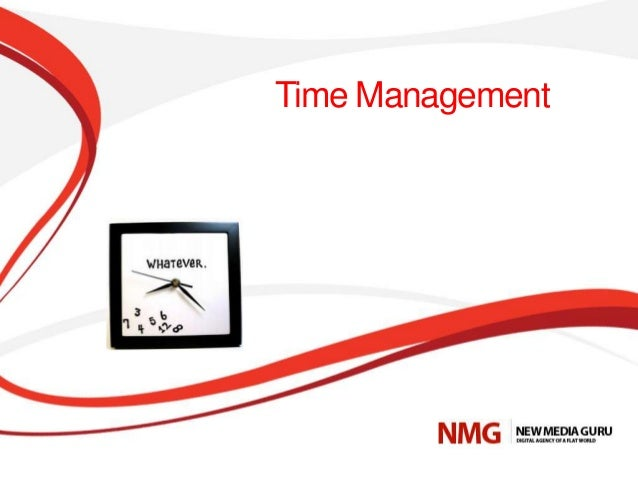 Effective way of time management