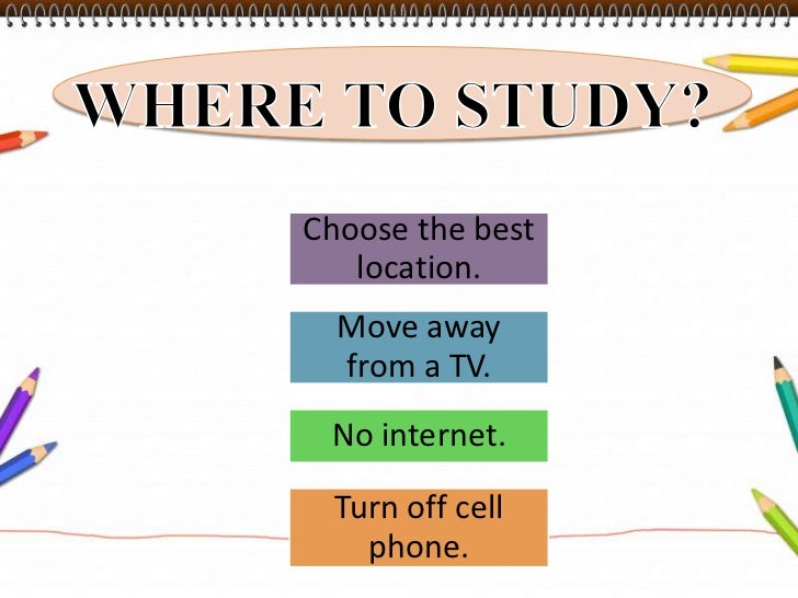 What are some effective ways to study?