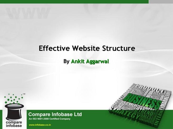 Effective Website Structure