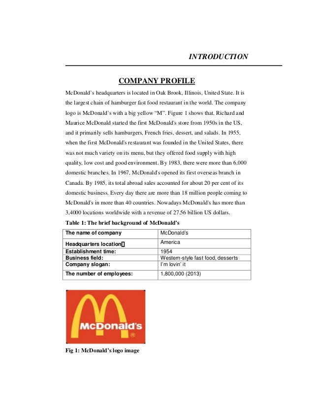 mcdonald s marketing stratiges and the fast food industry marketing essay Database of free marketing essays - we have thousands of free essays across a wide range of subject areas sample marketing essays | page 164.