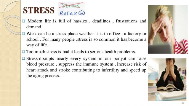 Essay writing about stress