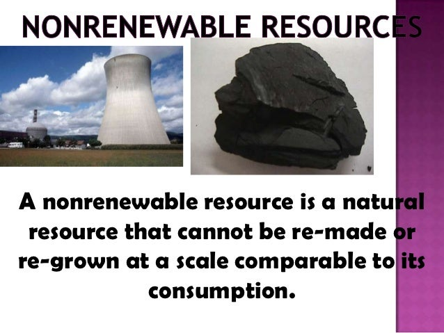 Is Natural Gas Nonrenewable Or A Natural Resource