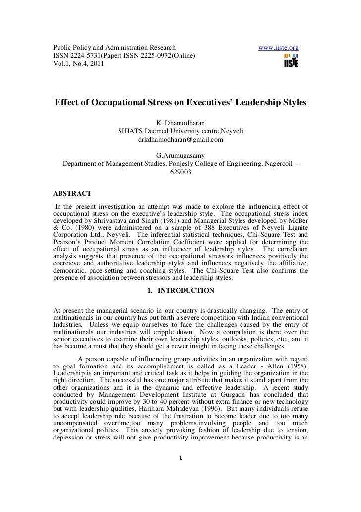 Public Policy and Administration Research                                www.iiste.orgISSN 2224-5731(Paper) ISSN 2225-0972...