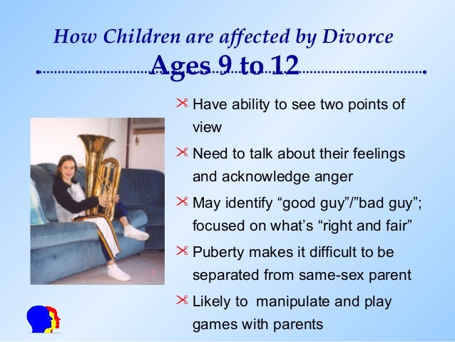 three main effects of divorce Effects of parental divorce for children provides few clear answers  in three  main ways, that have since then beenreplicated in hundreds of infants, in the us .