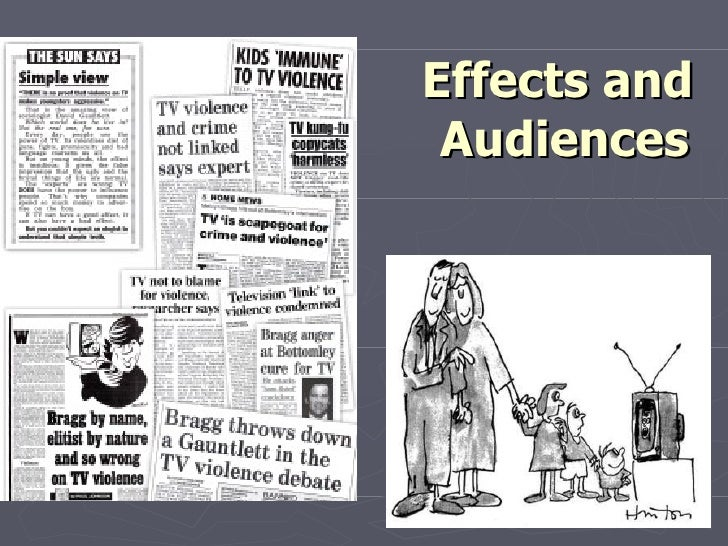 Effects and audiences lessons 2 and 3