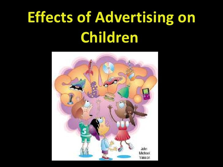 how advertising affects children Ver vídeo junk food advertising is to be banned across all children's media – including online and social – in a landmark decision to help tackle childhood obesity.