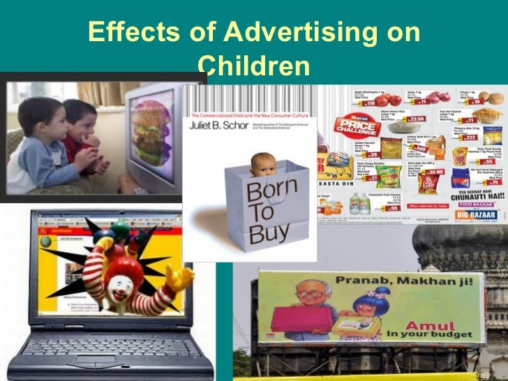 negative impact of advertisement Advertising influences on  it's possible to combat the negative impacts by being proactive about what your  high-fat foods than other kinds of advertisement sex.