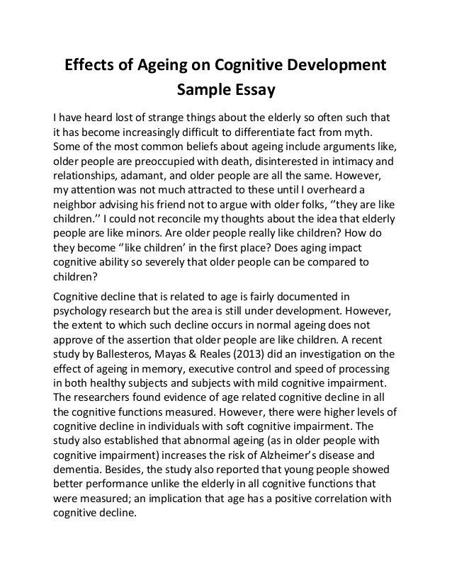 development essay