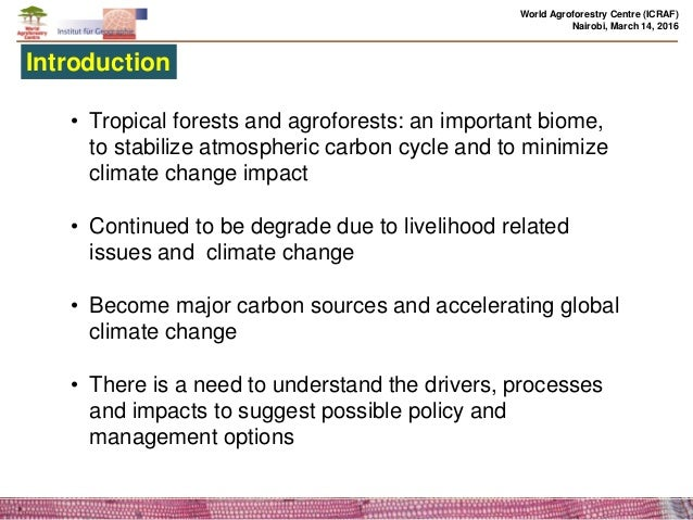 a description of the effects of tropical climate of africa to its citizens Tropical rain forests are home to millions of people some inhabitants are  on a  small scale its impact on the forest is minimal when it is practiced on a large.