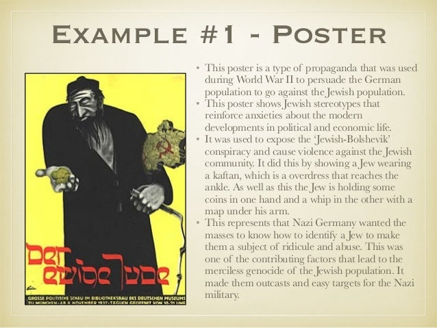 "essay on propaganda in nazi germany Examine why and how film was used for propaganda purposes in nazi germany ""the function of propaganda is,for example,not to weigh and ponder the rights of different people,but exclusively."