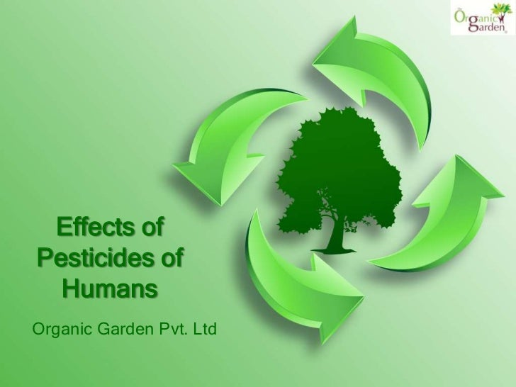 Effects of pesticides of humans
