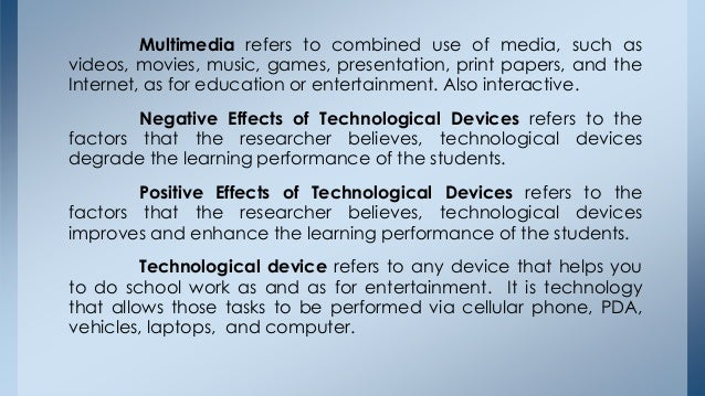 positive of technology essay Negative impact of technology essayshow information technology is changing the family and how it might affect the future some of the ways that it may affect the.