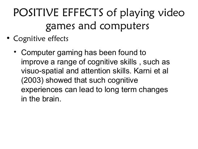 video games are beneficial essay