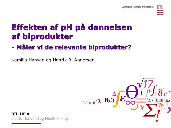 Effekten af pH