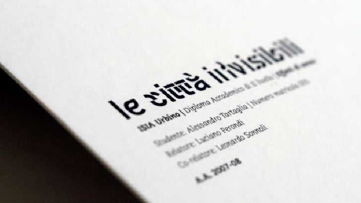 NON VI È ALCUN RISULTATO FINALE, SOLO UNA SUCCESSIONE CONTINUA DI FASI. LYNCH, L'IMMAGINE DELLA CITTÀ, 1964