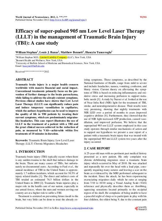 World Journal of Neuroscience, 2012, 2, ***-***                                                                       WJNS...